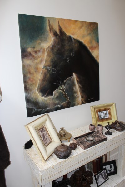 Horse in Room (400 x 600)
